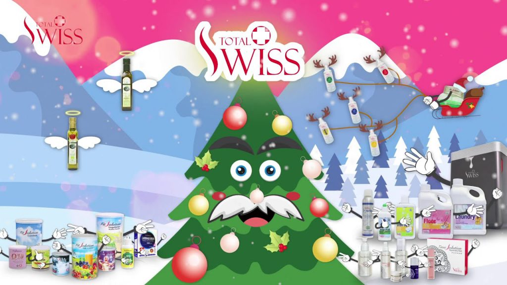 TOTAL SWISS – Good Bye 2020 ! Hello 2021 – Merry Christmas & Happy New Year